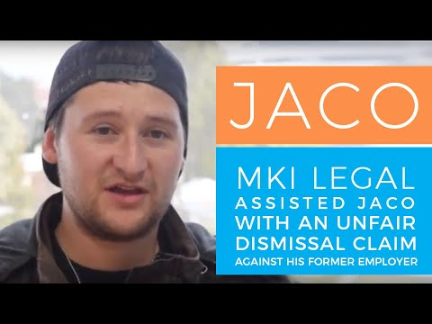Unfair Dismissal Lawyers - Client Review of MKI Legal