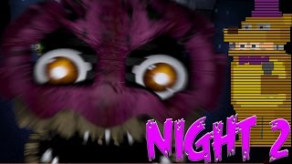 CUPCAKE JUMPSCARE! Fredbear is back! | Five Nights at Freddy