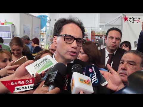 وزير الثقافة يشرف على إفتتاح الدورة الخامسة للصالون الدولي للكتاب بمعرض سوسة الدولي