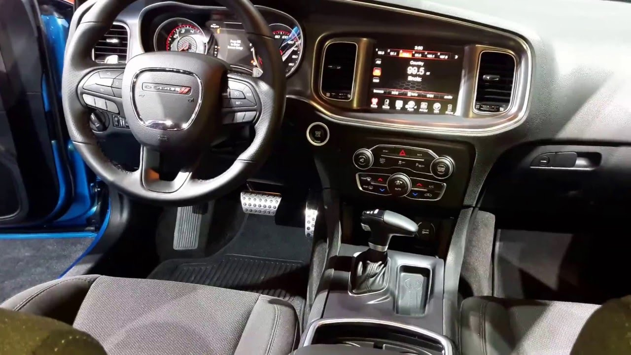 2016 Dodge Charger Rt 0 60 >> 2016 Dodge Charger RT Scat Pack Interior Walkaround - YouTube