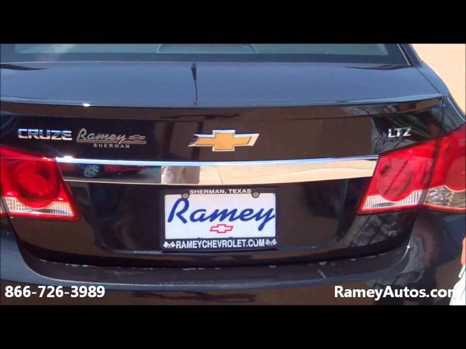2011 Black Chevy Cruze LTZ   Ramey Chevrolet