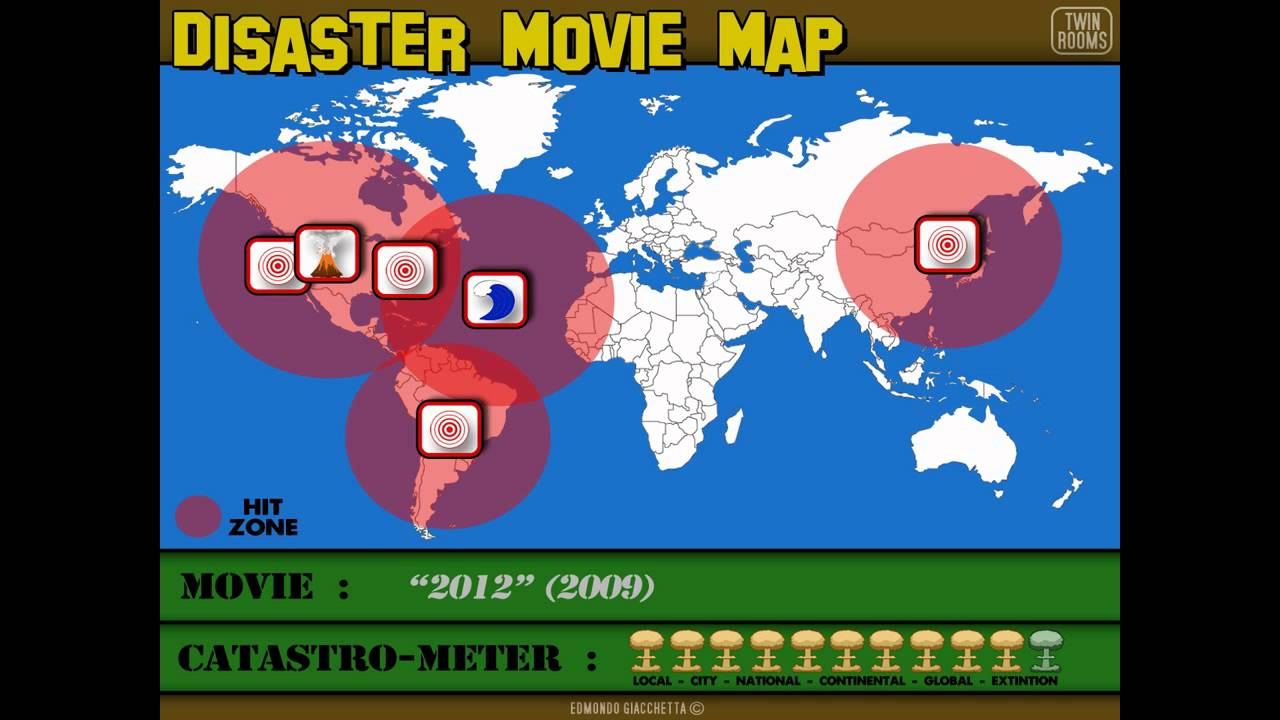 Disaster Movie Map : 2012 on