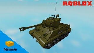 ROBLOX STUDIO SPEED BUILD / M4A3 (76)W - Sherman