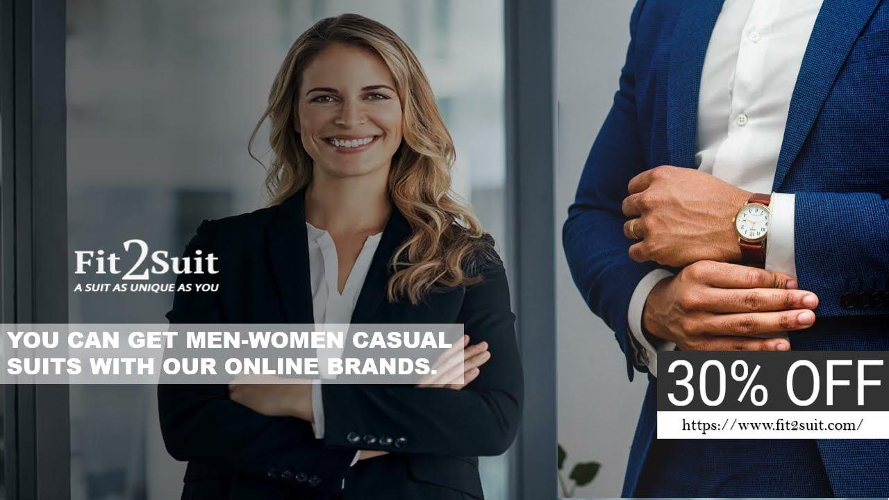 Design Your Own Suit Online at Fit2suit