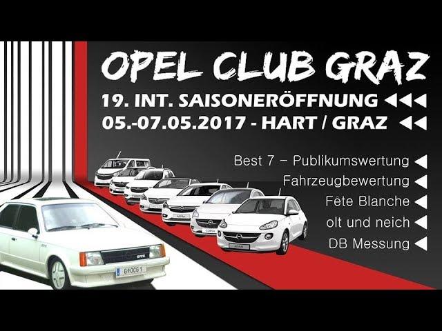 Opel Team Croatia - Opel Club Graz 19. INT. Sasioneroffnung 2017