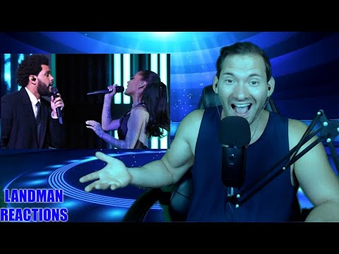 The Weeknd & Ariana Grande – Save Your Tears (Live on The 2021 iHeart Radio Music Awards) REACTION