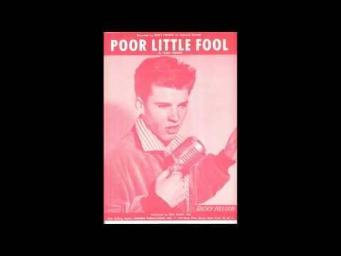 Hot 100 #1s  - Ricky Nelson - Poor Little Fool 1958