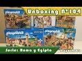 Unboxing PlaymoRubio nº104 ? Serie Roma y Egipto de PLAYMOBIL®