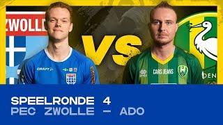 EDIVISIE | SPEELRONDE 4: PEC Zwolle - ADO Den Haag