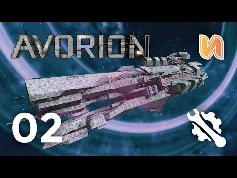 INSANE CAPITAL SHIPS AND EVE ONLINE MAGUS | Avorion Builds Ep 02
