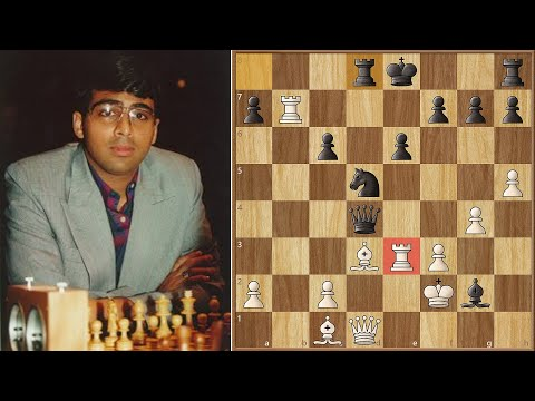 Greatest Chess Games Ever Played || Anand vs Lautier (1997)