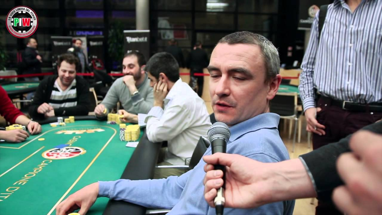 Poker live campione