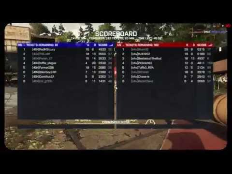 Battlefield 4 Multiplayer. Do Gaming League Friendly nAv Hydra Platoon vs 404 not found part four