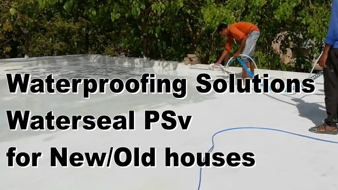 How to Waterproof a Terrace  Easy method,terrace waterproofing details