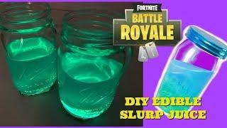 Fortnite SLURP JUICE DIY Drinkable SLURP JUICE Glows in Dark