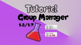 TUTORIEL | Créer un grade avec GroupManager [1.7 / 1.8/ +] V2