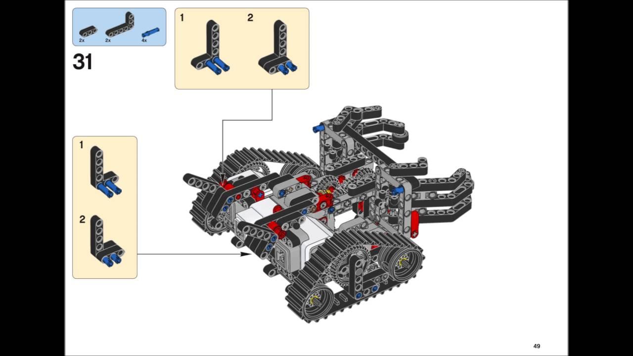 Lego Mindstorms EV3 31313 - GRIPP3R Building Instructions ...