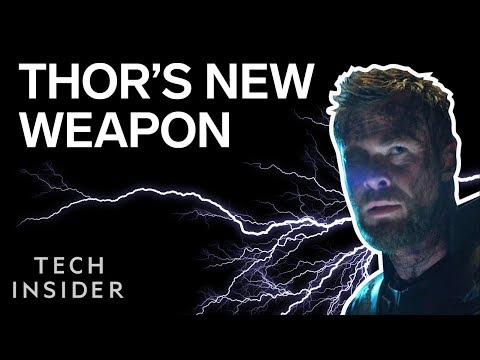 Thor's New Weapon In