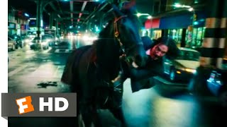 John Wick: Chapter 3 - Parabellum 2019 - Horse Stable Fight Scene 2/12 | Movieclips