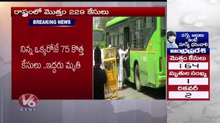 2 More Deaths, 75 Fresh Cases take Telangana total to 229  Telugu news