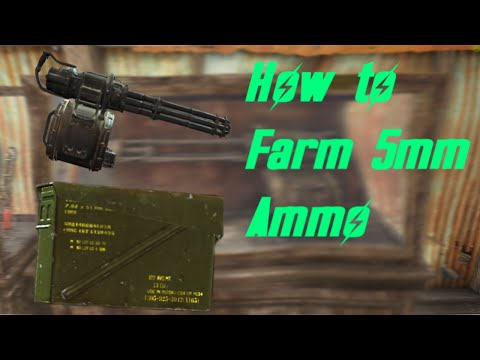 Fallout 4 How to farm 5mm ammo