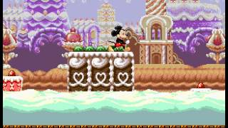 Castle of Illusion Starring Mickey Mouse - Castle of Illusion Starring Mickey Mouse (Sega Genesis)   Speed Run 3 - User video