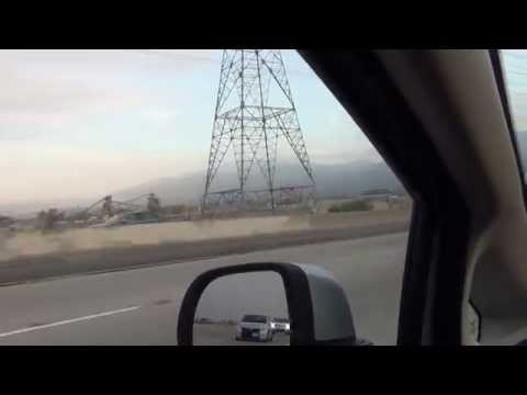 Going to Area 51 Part 1 Leaving Los angeles