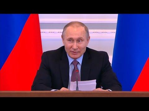 Путин сравнил микрофинансовые организации со старухой-процентщицей Достоевского