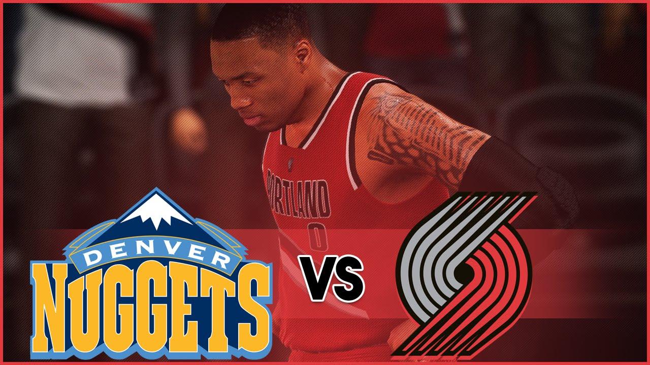 NBA 2K16 Portland Trail Blazers MyLeague- Clinching The