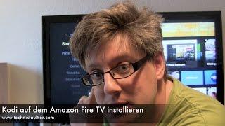 Kodi auf dem Amazon Fire TV installieren