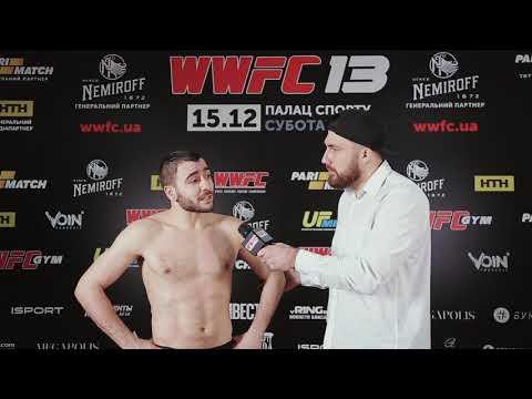 WWFC 13 Interview: Ali Huseynov