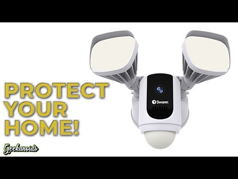 Swann Wi-Fi Floodlight Security System Review
