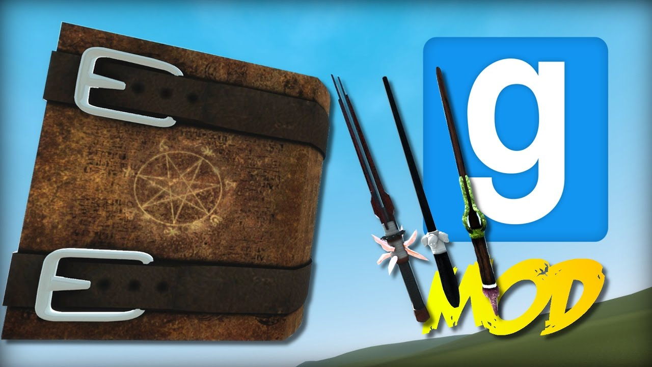 Garry's Mod: EPIC NEW HARRY POTTER WAND REWRITE + SPELLS | Mod Showcase