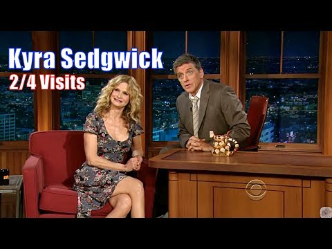 Kyra Sedgwick  Married To Kevin Bacon Since 1988  24 Visits In Chronological Order