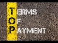 Terms of Payment - HSI