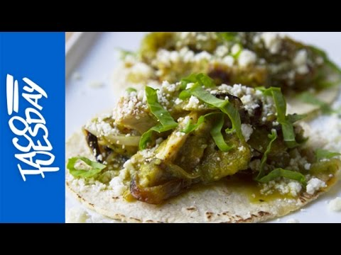 Taco Tuesday: Chicken Tacos with Farmers' Market Sorrel Salsa