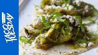 Chicken Tacos with Farmers Market Sorrel Salsa