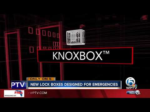 Lock boxes helping first responders in cases of emergency