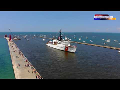 Grand Haven Coast Guard Festival 2018 by Michigan Drone Pros - DJI mavic AIR