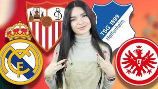 видео: Реал Мадрид - Севилья. Хоффенхайм - Айнтрахт. Прогноз экспресс. Примера. Бундеслига