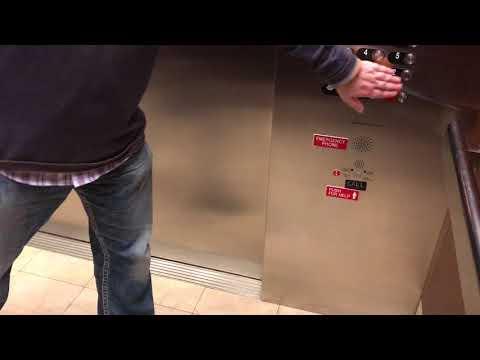 Graeginator Rides The Elevator at Northwestern Memorial Hospital in Downtown Chicago
