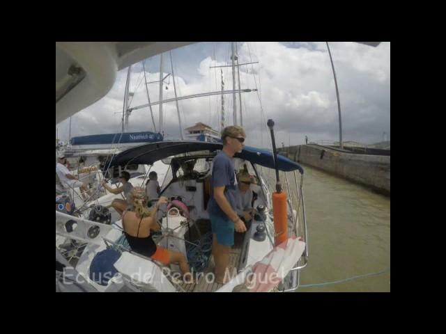 Les écluses du canal de panama en voilier