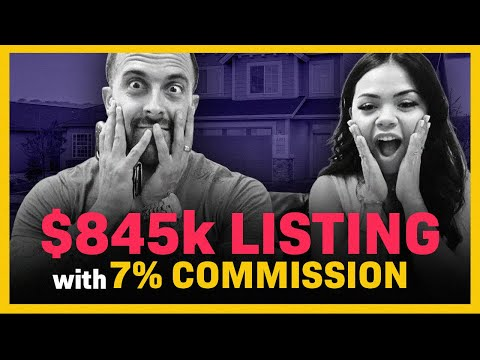New Real Estate Agent Takes $845,000 Listing At 7% Commission: How She Did It EXPLAINED