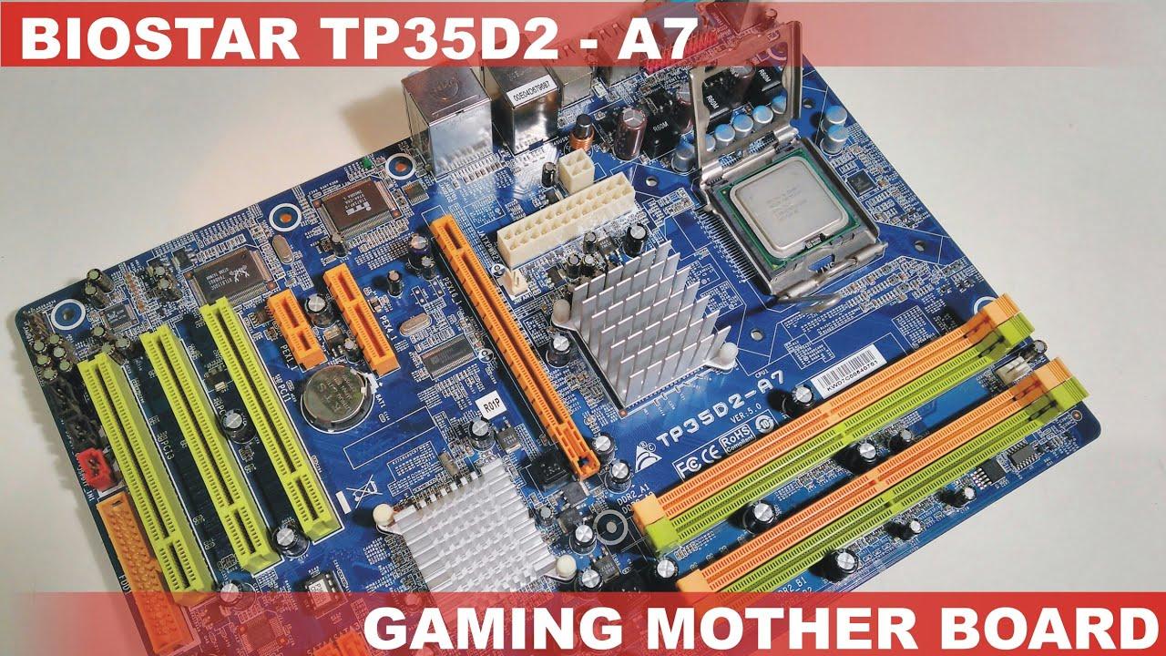 Download Drivers: BIOSTAR TP35D2-A7 5.x