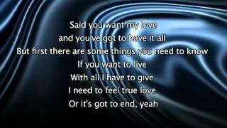 Jennifer Lopez   If You Had My Love  Lyrics In Video + iPhone Unlock
