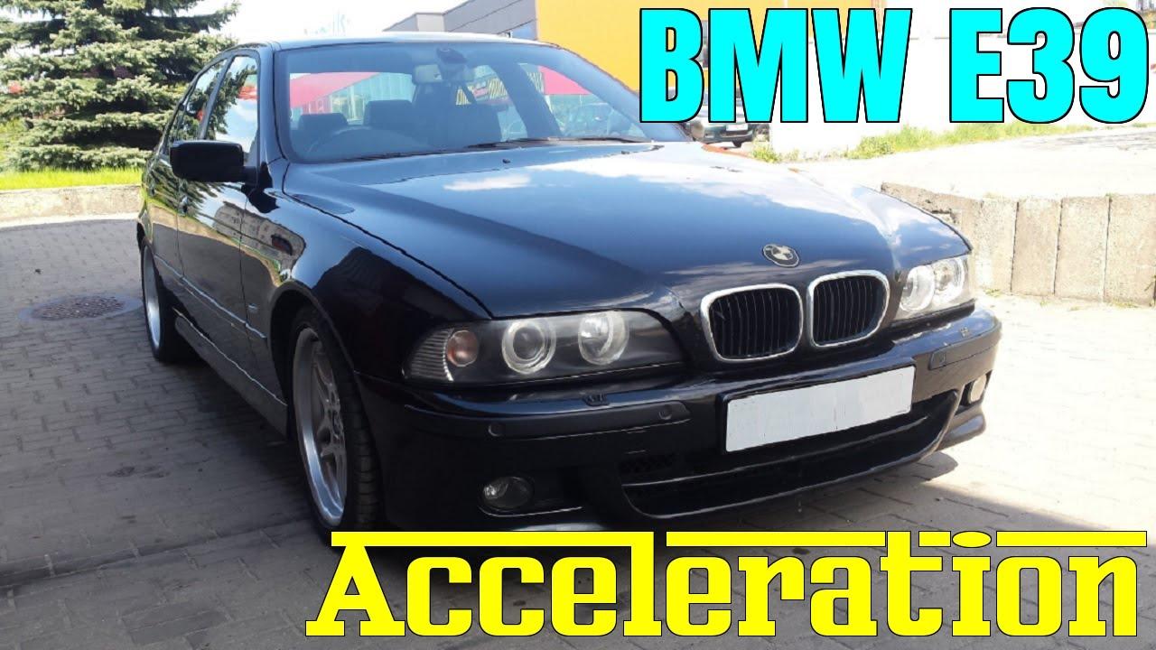 bmw 5 e39 0-100 acceleration statistics | all engines - v8 540i