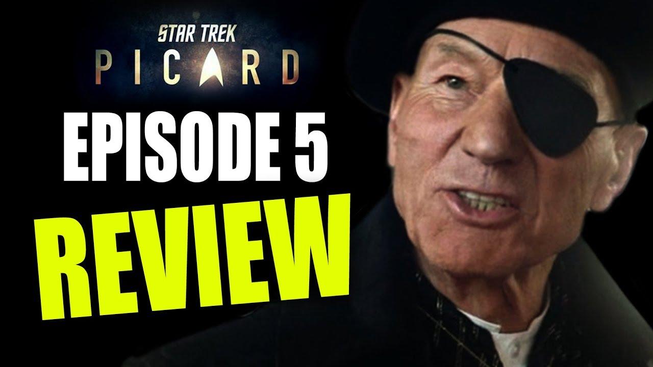 STAR TREK PICARD EPISODE 5 REVIEW! SCENE-BY-SCENE BREAKDOWNS!