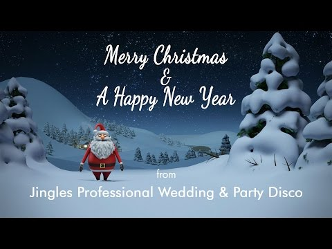 Christmas Greetings from Jingles - 01387 269291 - Professional Wedding & Party Disco in Dumfries