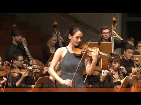 SPOHR Violin Competition: Anne Luisa Kramb performs Bruch's
