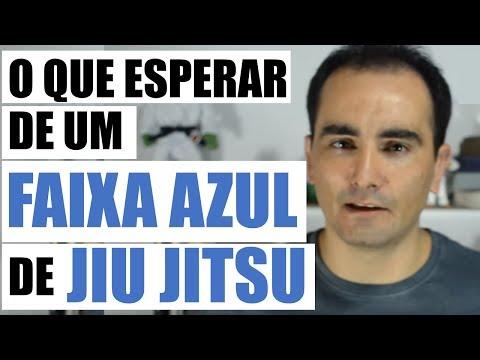 Jiu Jitsu - O que esperar de um faixa AZUL - Graduar a Faixa Azul de JiuJitsu